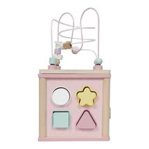 LITTLE DUTCH - Kocka s aktivitami pink