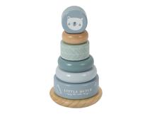 LITTLE DUTCH - Nasadzovacie krúžky blue