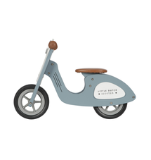 LITTLE DUTCH - Odrážadlo Scooter Blue