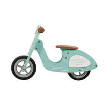 LITTLE DUTCH - Odrážadlo Scooter Mint 2019