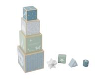 LITTLE DUTCH - Skladacia veža blue