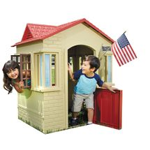 LITTLE TIKES - Domček na hranie Cape Cottage béžový 637902