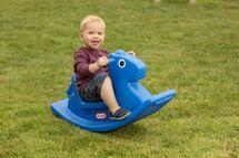 LITTLE TIKES - Hojdací koník koník modrý 4279