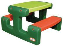 LITTLE TIKES - Piknikový stolík junior Evergreen 479A
