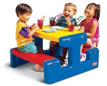 LITTLE TIKES - Piknikový stolík junior Primary 4795