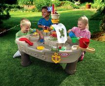 LITTLE TIKES - Vodný stôl Pirátska loď 628566