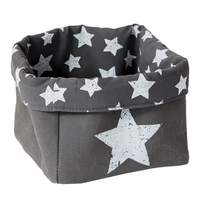 LOVE IT STORE IT - Box na hračky, malý košík - šedý, Vintage Star