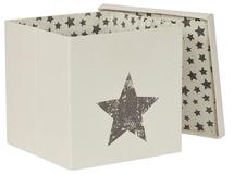 LOVE IT STORE IT - Box na hračky s krytom - prírodná farba, Star