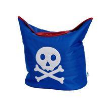 LOVE IT STORE IT - Taška na prádlo Piráti – modrá s pirátom