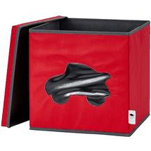 LOVE IT STORE IT - Úložný box na hračky s krytom a okienkom - auto