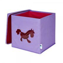 LOVE IT STORE IT - Úložný box na hračky s krytom a okienkom - koník