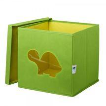 LOVE IT STORE IT - Úložný box na hračky s krytom a okienkom - korytnačka