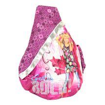 LUCIA - Batoh detský triangel Hannah Montana