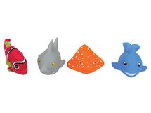 LUDI - Hračky do vody rybky 4ks