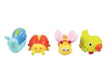LUDI - Hračky do vody zvieratká z lúky 4ks
