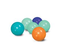 LUDI - Loptičky modré / oranžové 75 ks