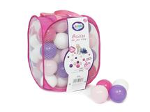 LUDI - Loptičky ružové / fialové 75 ks