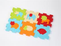 LUDI - Puzzle penové 46,5x31,5 cm zvieratká