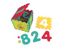 LUDI - Puzzle penové 143x48 cm čísla