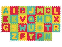 LUDI - Puzzle penové 199x115 cm písmena