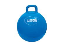 LUDI - Skákacia lopta 45cm modrá
