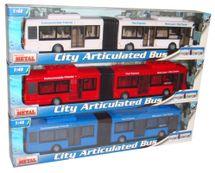 MAC TOYS - 1:48 Autobus Kĺbový 3Ass
