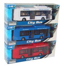 MAC TOYS - 1:48 Autobus Mestský 3Ass