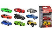 MAJORETTE - Autíčka kovové 3 ks Street Cars, 3 druhy