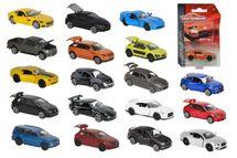 MAJORETTE - Autíčko Kovové Premium Cars, 18 Druhov
