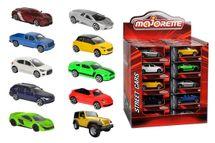 MAJORETTE - Autíčko Kovové Street Cars, Dp40,10 Druhov
