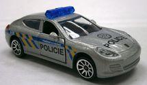 MAJORETTE - Policajné Auto Kovové, Česká Verzia