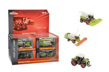 MAJORETTE - Poľnohospodárske stroje ClaAction Series 9 -13 cm, 3 druhy, Dp12