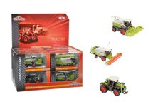 MAJORETTE - Poľnohospodárske Stroje Claas 9 -13 Cm, 3 Druhy, Dp12