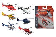 MAJORETTE - Vrtuľník Kovový 13 Cm, 6 Druhov