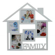 MAKRO - Fotorámik Family, 45 x 45 cm (biely)