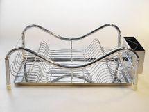 MAKRO - Nerezový odkvapávač na riad 47 x 32 cm