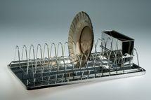 MAKRO - Nerezový odkvapkávač, úzky, 44 x 23 cm