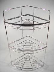 MAKRO - Rohová polička 52 x 30 cm