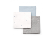 MAMAS & PAPAS - Mušelínové plienky 90x90 cm 3 ks modré