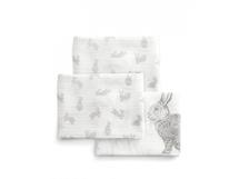 MAMAS & PAPAS - Mušelínové plienky veľké 3 ks králici