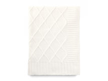 MAMAS & PAPAS - Pletená deka krémová