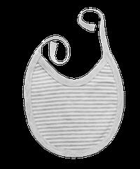 MAMATTI - Podbradník bavlna Gentleman, sivý