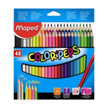 "MAPED - Pastelky trojhranné MAPED ""COLOR`PEPS"", 48 ks"