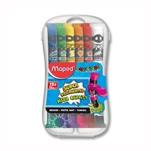 MAPED - Temperové farby MAPED Paint, 12x12 ml + plast. box