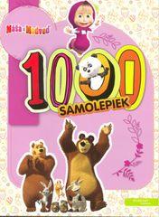 Máša a medveď - 1000 samolepiek