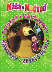 Máša a medveď - Kniha hier a zábavy na celý rok