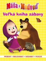 Máša a medveď-Veľká kniha zábavy(2015)