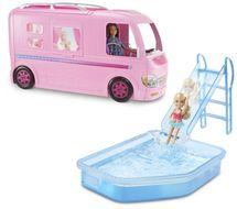 MATTEL - Barbie Dream Camper Karavan snov FBR34