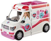 MATTEL - Barbie Klinika na kolesách FRM19
