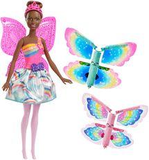MATTEL - Barbie Lietajúca Víla S Krídlami Brunetka